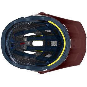 Mavic Crossmax Pro Kask rowerowy, red dalhia/poseidon